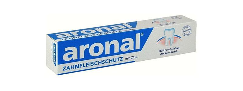 Aronal zobu pastas tūbiņa