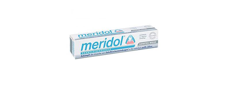 Meridol zobu pastas tūbiņa